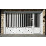empresa de portão automático aço galvanizado para orçar Caierias