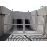 empresa para comprar portão articulado vertical Belém