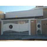 empresa de portão automático ferro galvanizado