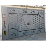 fábrica de portão automático Água Branca
