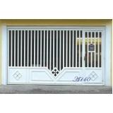 fábrica de portão de ferro tubular Vila Romana