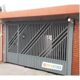 fábrica de portão de garagem para cotar Liberdade