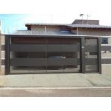 fábrica de portão para condomínio para cotar Embu Guaçú