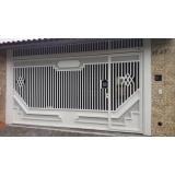 fábrica de portão para garagem automático para cotar Vila Guarani