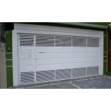 fábrica de portão para garagem para cotar Parque São Rafael