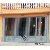 fábrica de portão para garagem São Domingos