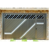 fabricantes de portão automático aço galvanizado Mauá
