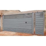 fabricante de portão automático horizontal