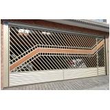 instalação de portão articulado de correr Vila Alexandria