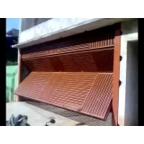 instalação de portão articulado garagem Ribeirão Pires