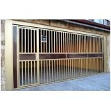 instalação de portão automático alumínio Vila Andrade