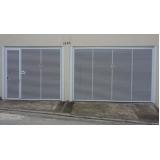 instalação de portão automático de garagem Jardins
