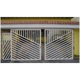 instalação de portão pivotante de garagem Santa Isabel
