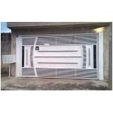 manutenção de portão basculante branco Limão