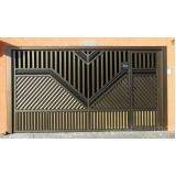 manutenção de portão eletrônico galvanizado Interlagos