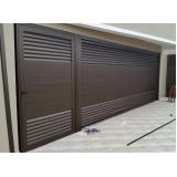 manutenção de portão eletrônico para garagem Parque São Lucas