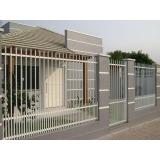 onde tem fábrica de portão para condomínio Cidade Ademar