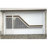 portão articulado ferro galvanizado preço Sumaré