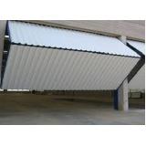 portão articulado garagem Higienópolis