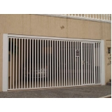 portão articulado horizontal preço Jardim Imperador