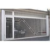 portão basculante automatizado preço Jardim Paulistano