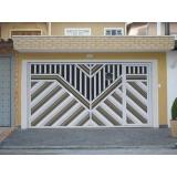 portão basculante automatizado Santa Cecília
