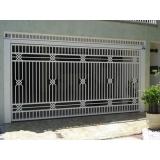 portão de ferro tubular valores Vila Marcelo