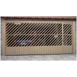 portão de ferro tubular Sacomã