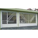 portão eletrônico para garagem preço Vila Lusitania