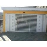 portão pivotante de garagem valor Água Branca