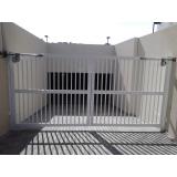 portão pivotante preço Vila Curuçá