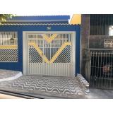 portão pivotante valor Vila Sônia
