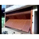 portão articulado para garagem