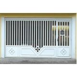 portões de ferro basculantes Jardim Grimaldi