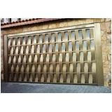 portões de ferro de dobrar Parque Santa Madalena