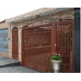 portões de ferro estilo colonial Santo Amaro