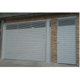 quero comprar portão basculante de garagem Casa Verde